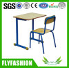Simple Design Wooden School Desk and Chair (SF-28S)