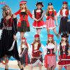 Adult Pirate Costume for Deluxe Costume Set for Hallow Party