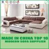 Divany Furniture Set Genuine Leather Wooden Sofa