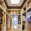 High Quality MDF/Melamine/Solid Wood Walk in Closet/Wardrobe