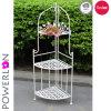 Home Garden Design Flower Stand 3-Tier Corner Shelf