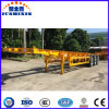 40FT 3 Axle 30.5 Tons Semi Truck Trailer Skeleton Container Semi Trailer with Fuwa or BPW Axle and Wabco Valve