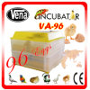 2014 Most Popular Model Va-96 Automatic Egg Quail Incubator
