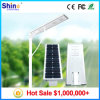 5 Years Warranty Solar Street Light Smart Integrated Solar Street Lights All in One