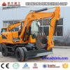 Engineering Construction Machinery Ce Wheel Excavator 12t Walking Excavator