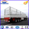 3axles/12tyres Side Wall Stake Semi Trailer for Sale