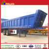 2 Axles Hydraulic Cylinder Semi Rear Tipper Trailer