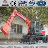 China Small Wheel Excavator with ISO9001 Certificate