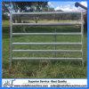 40mm X 80mm 6 Oval Rails Galvanized Portable Metal Cattle Yard Panels