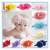 Hot Style Baby Elastic Rose Pearl Flower Hair Band Hair Accessories Tire 13 Color Headband