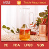 Heat-Resisting Large Capacity Glass Cold Water Pitcher with Lid