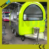 Outdoor Street Towable Food Vending Carts