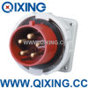 Waterproof Panel Mounted Plug for Electrical Cee Plug