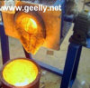 Medium Frequency Induction Heating Furnance for Gold Silver Brass Aluminium Melting 3-200 Kgs