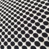 Thick Black and White Jacquard Fabrics