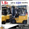 Battery Operated 1.5 Ton Electric Forklift