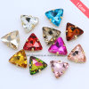 Triangle Sew on Rhinestone Fancy Jewelry Costume Jewelry Crystals (SW-Triangle 22mm)