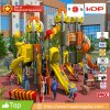 2017 Muti-Functional Popular Plastic Outdoor Playground with Cartoon Characters