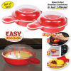 Plastic Microwave Egg Muffin Cooker Easy Eggwich