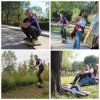 Fashion 750W Motor Electric Skateboard with LED Lights