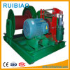 Small Electric Capstan Winch Construction Hoist Electric Worm Gear Winch