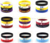 OEM Print NBA Player Promotional Luminous Sport Silicone Bracelet