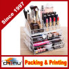 4 Drawers and 16 Grid Makeup Organizer with Cosmetic Storage Cases, The Top of The Almighty as a Display Make-up Brush and Lipstick Holder