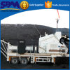 Large Capacity Wheeled Mobile Jaw Crusher Machine