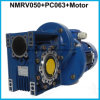 Worm Speed Reducder Gears with Pre-Stage PC Helical Gearbox Mounted with Motor