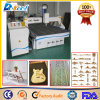 Customized Vacuum Table CNC Wood Guitar/ Plate/Furniture Mill Carving Machine