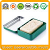 Rectangular Hinged Soap Metal Tin Holder