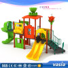 Huaxia Hot Sale High Kid Swing Plastic Slide Outdoor Playground