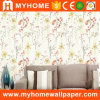 China Home Decoration PVC Vinyl Wallpaper with Waterproof