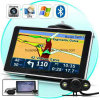 "Cheap 4.3"" Car Portablet in-Dash GPS Navigator with 128MB DDR, 4GB, FM, Bt, Tmc, ISDB-T TV, GPS Map GPS Navigation G-4306"