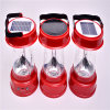 6V/2W Brightness Portable LED Solar Camping Light (Energy Saving)