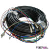 Fan-out Type Outdoor Waterproof Optical Multi-Fiber Patch Cable