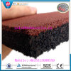 Factory Direct Sell Fire-Resistant Antibacterial Rubber Flooring Mat Indoor Rubber Tile Anti-Slip Rubber Flooring