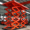Sale Warehouse Outdoor Fixed Electric Cargo Elevator Hydraulic Freight Lift Platform