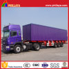 3 Axles 60 Tons Box Trailer in Semi Trailer