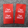 High Quality Red Background Printing Sew Label