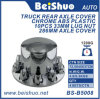 Chrome Semi Truck Wheel Rear Front Axle Covers Wheel Center Caps