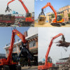Swing Rubbish Folder Crane, Electrical Material Handling Equipment