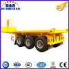 3-Axle Flat Bed Container Tipping Tipper Semi Trailer