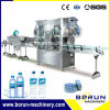 Double Heads Shrink Packing Labeling Machine for Bottle Body and Caps