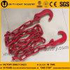 Lashing Binding Lifting Chain with Bent Hook