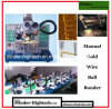Manual Ultrasonic Gold Wire Ball Bonding Machine Mdbb1750
