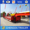3 Axles 60 Ton Gooseneck Lowbed Trailer for Sale