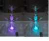 50mm Glass Shisha Hookah with 7 LED Colors Glass Russia Hookah