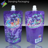Hot Sale Nice Printing Juice Pouch with Spout (DQ0987)