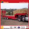 3 Axles Low Bed Semi Utility Trailer for Cargos
